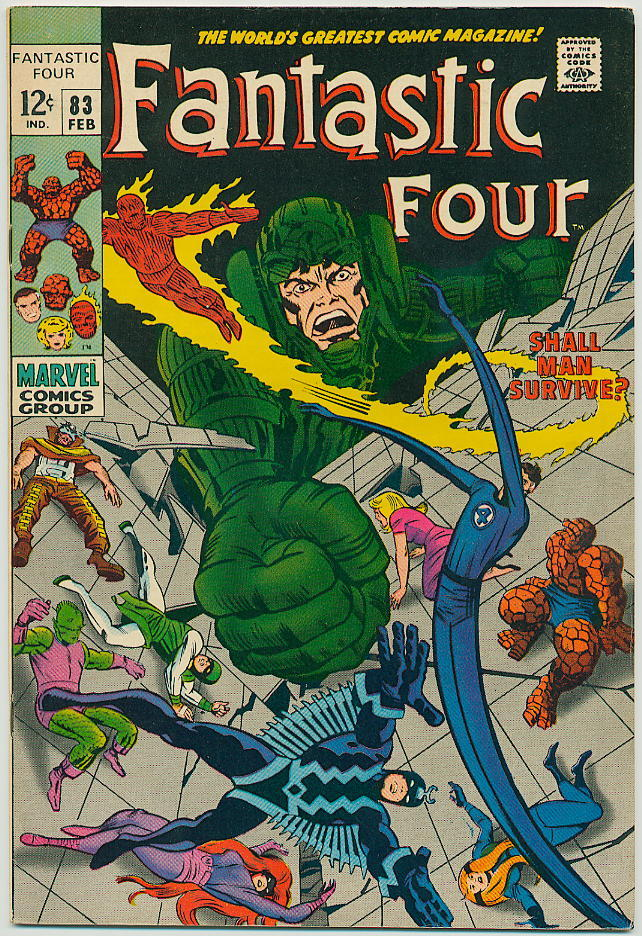 Image of Fantastic Four 83 provided by StreetLifeComics.com