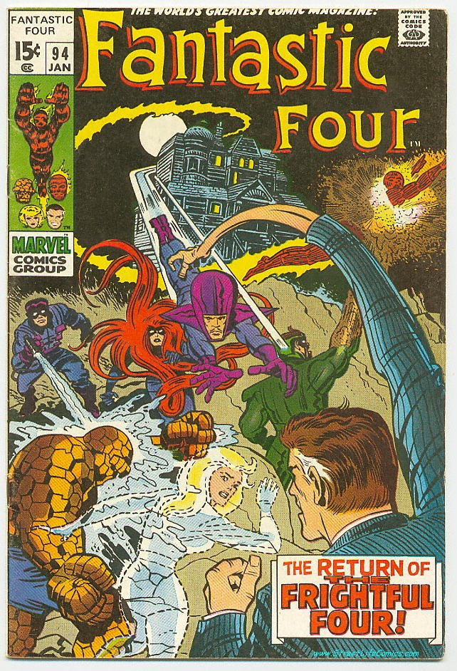Image of Fantastic Four 94 provided by StreetLifeComics.com