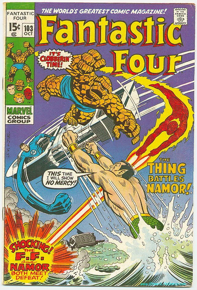 Image of Fantastic Four 103 provided by StreetLifeComics.com
