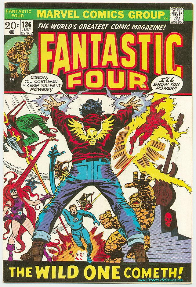 Image of Fantastic Four 136 provided by StreetLifeComics.com