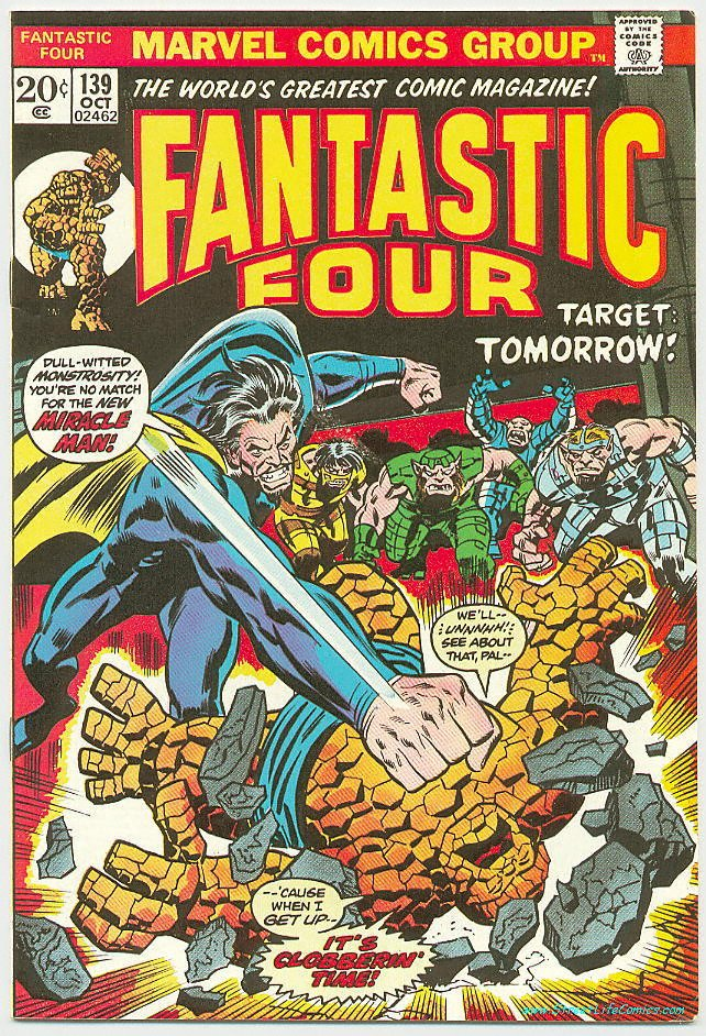 Image of Fantastic Four 139 provided by StreetLifeComics.com