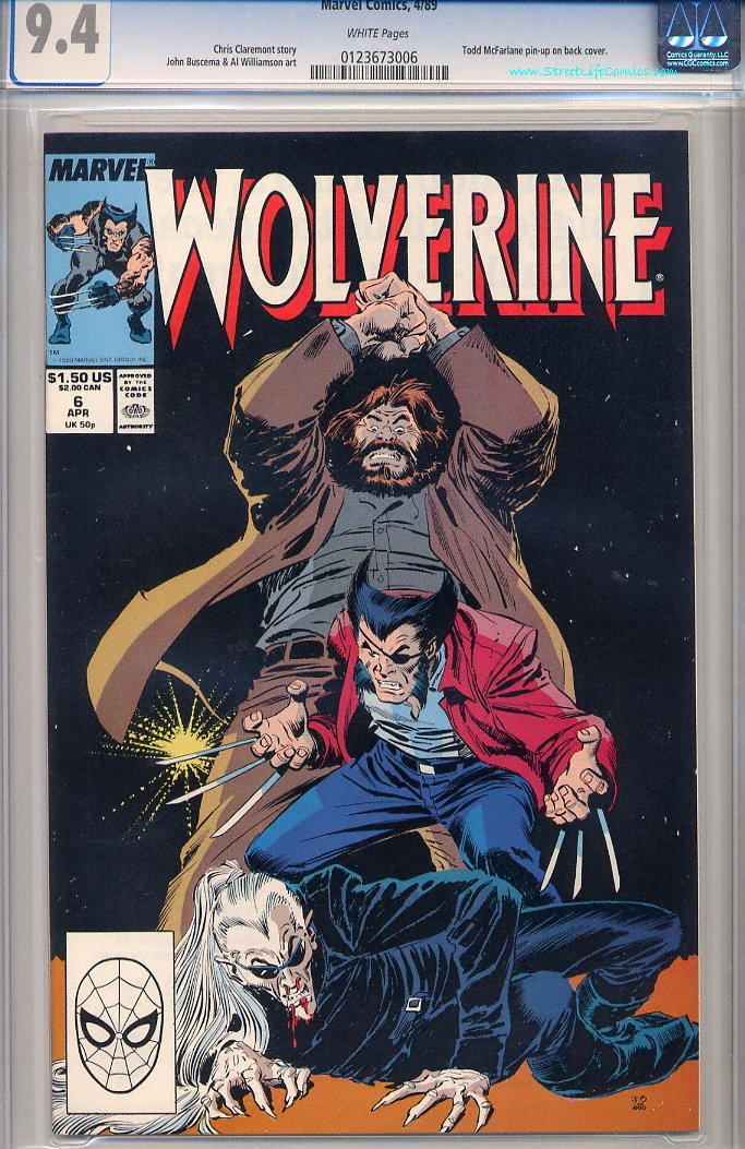 Image of Wolverine 6 provided by StreetLifeComics.com