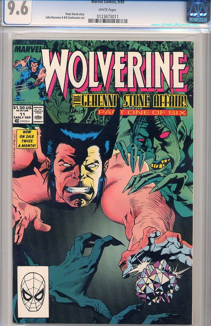 Image of Wolverine 11 provided by StreetLifeComics.com